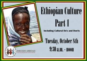 conference on culture by Broads Abroad