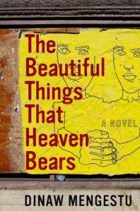 The Beautiful Things That Heaven Bears by Dinaw Mengestu. NY: Riverhead Books, 2007