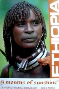 """Etiopía.  13 meses de sol"". Ethiopian Tourism Commision, Addis Ababa."