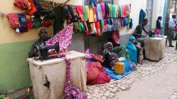 Calle de los sastres o makina guirguir, Harar. Foto: eaTropía