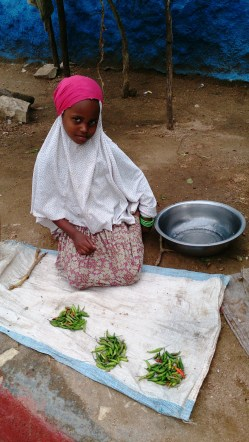 Girl. Harar, Ethiopia