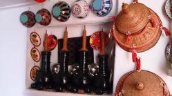 Botes de cerámica para guardar incienso, monedas, etc. Casa típica, Harar. Foto: eaTropía