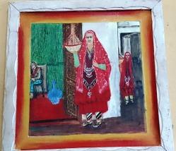 Abba matora (chica harari llevando dulces a una novia). Museo Casa Ras Tafari, Harar. Foto: eaTropía