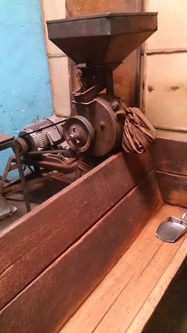 Moledora de café en la fábrica Nure, Harar. Foto: eaTropía