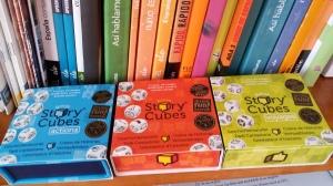 3. Story Cubes (Asmodee) para contar historias. Foto: eaTropía