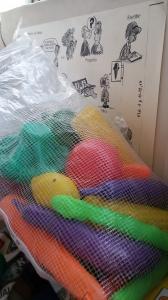 5. Verduras y frutas de plástico. Foto: eaTropía