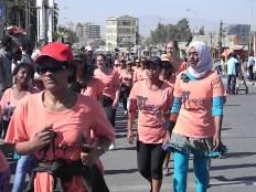 En la carrera. Foto: entreColyCol